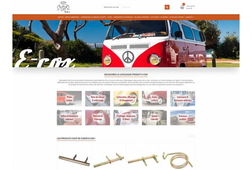 Lancement de notre boutique en ligne